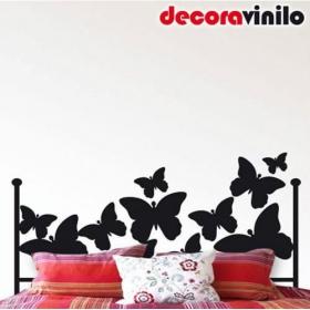 Cabecero de Cama 150 cm - Mariposas.
