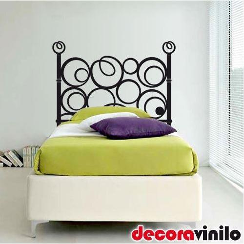 Cabeceros de cama de vinilo vinilo decorativo cabecero de - Vinilos decorativos para cabeceros de cama ...