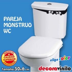 Pareja Monstruo - 6x50 cm