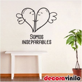 Somos inseparables - 30x27 cm o 50x45 cm