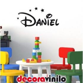 Nombres Disney personalizados - 60x30 cm o 80x40 cm