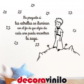 "El Principito ""MI ESTRELLA"" 100x75cm P01"