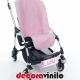 Mini Matrículas carrito bebé y bicicletas - 20x7 cm M01