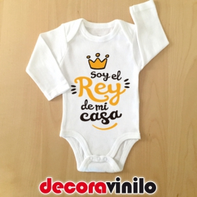 Body bebé 3 meses - EL REY DE MI CASA