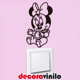 Minnie Mouse 7x12cm IN03