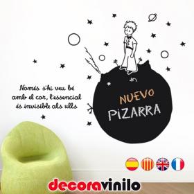 Pizarra El Principito - 110x82 cm