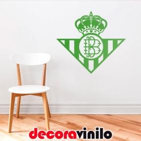 Vinilo del Escudo Real Betis Balompié