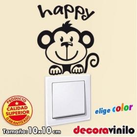 Mono happy - 10x10 cm.