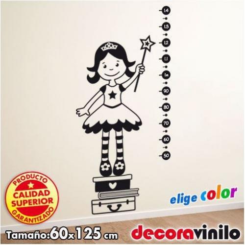 Princesa medidor de altura - 125x60 cm