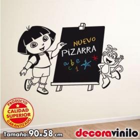 Pizarra Dora la Exploradora - 90x58 cm