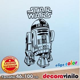 R2D2 - Star Wars - Guerra de las Galaxias - 46x100 cm